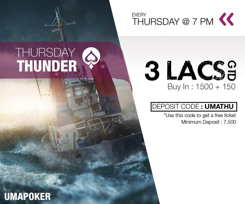 UMA Poker Thursday Thunder