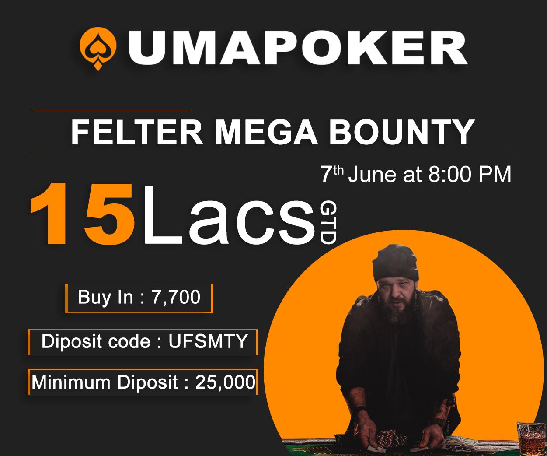 UMA Poker Mega Bounty