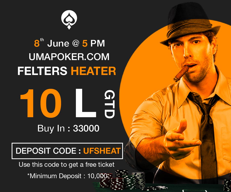 UMA Poker Felter Heater
