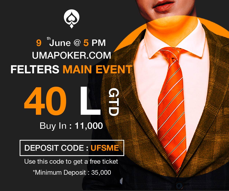 UMA Poker Felter Main Event