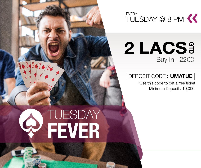 UMA Poker Tuesday fever