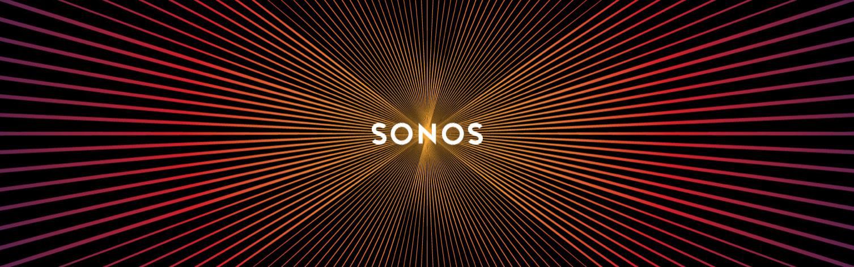Логото на Sonos е известно с ефекта, който се получава, когато се скролва нагоре-надолу по екрана