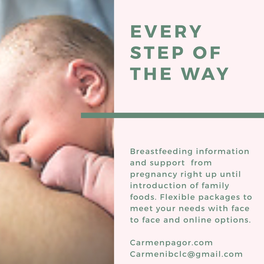Every Step of the Way - This is the ultimate package. I will offer you complete continuity of care from pregnancy, through those early days and weeks after baby/ies arrive and we will even celebrate those first tastes of family foods your little one has at the table. You will be receiving my care as an IBCLC as well as a health visitor with my background in paediatric nursing. This will complement your local health visiting offer. Every Step of the Way is a flexible package. Here is an example of what you can expect to receive...60 minute antenatal contact. We will chat through your pregnancy and health history in regards to lactation and I will share my expertise with you to help you get breastfeeding off to a flying start when your baby arrives. We will discuss normal newborn behaviours, the power of skin to skin, how breastmilk is made, breastfeeding in the early days and how to build a breastmilk supply to meet your little ones needs. If you have any health conditions that may add any challenges to breastfeeding we will be able to make a bespoke plan to meet your individual needs.2 hour newborn consultation (week 1). We will chat about your birth experience, those first feeds and I will offer suggestions to help you achieve comfortable and relaxed breastfeeds. We will talk about how your baby is getting on and I can offer appropriate strategies to help your baby get enough milk and for you both to enjoy comfortable feeds.60 minute follow up consultation at 2-3 weeks30 minute video call at week 460 minute video call at week 6-8. This contact will be focussing on your emotional well being as well as breastfeeding.30 minute video call at 4 months. This is a time of rapid developmental changes in your little one, including the fun that comes with being more alert and distractible during feeds! It can also be a time where sleep patterns can change. I will be there to hear how its all going and offer strategies to help you deal with any bumps in the road.60 minute con