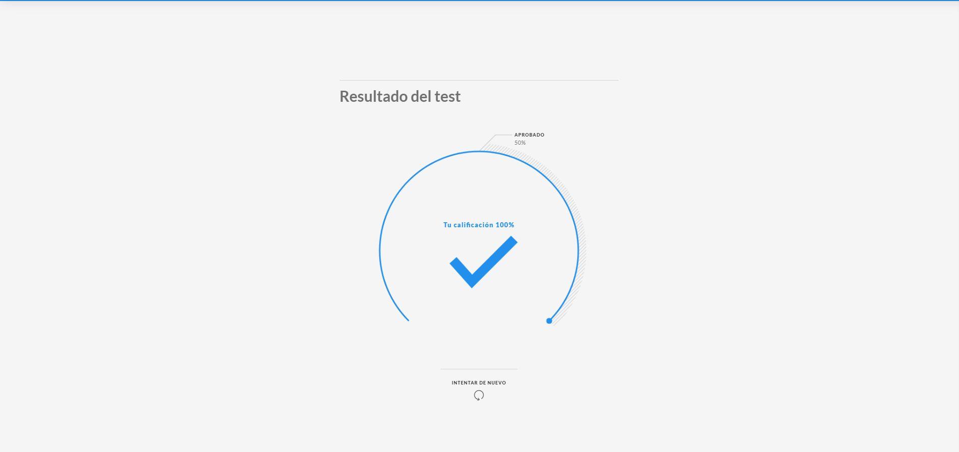 3. TESTS Y CERTIFICACIONES - Todos los capítulos terminan con un test para certificar la adquisición de conocimientos y que permiten obtener KPIs que ofrecen tranquilidad a las empresas, con datos como:- # de usuarios que han completado y superado el test- # de usuarios en curso- # de usuarios que no han empezado- Otros