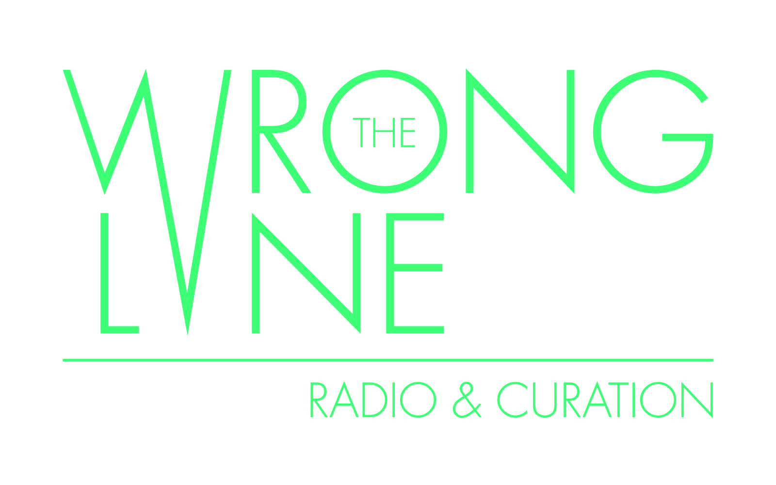 The Wrong Lane radio and curation