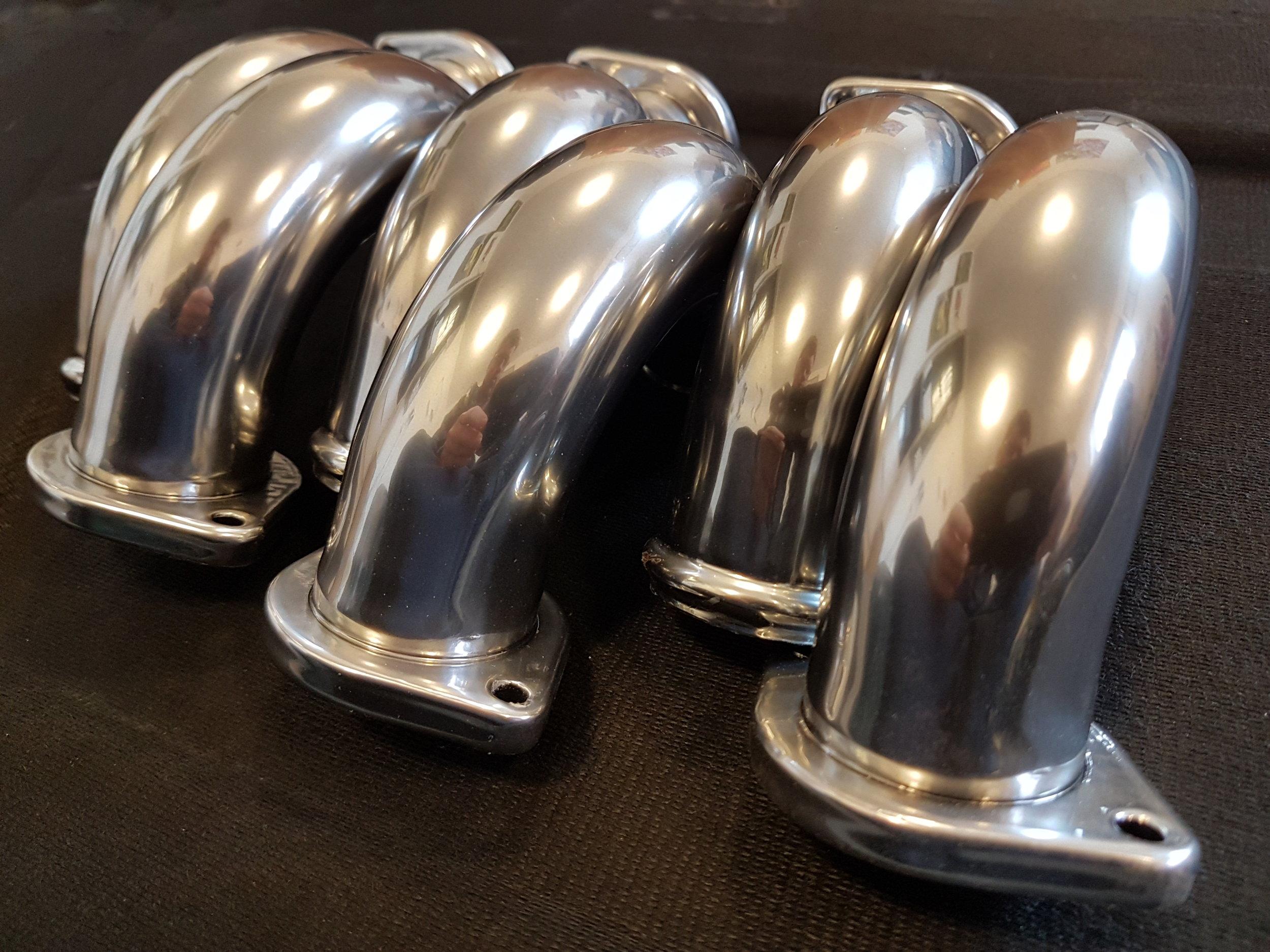 Alfa Romeo V6 Busso Pipes