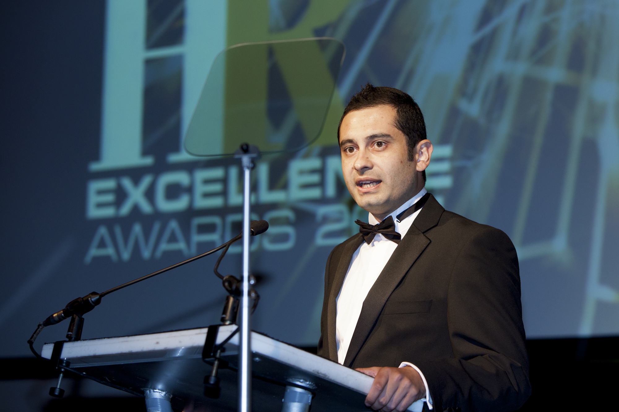 Black tie event at the R Awards 2012