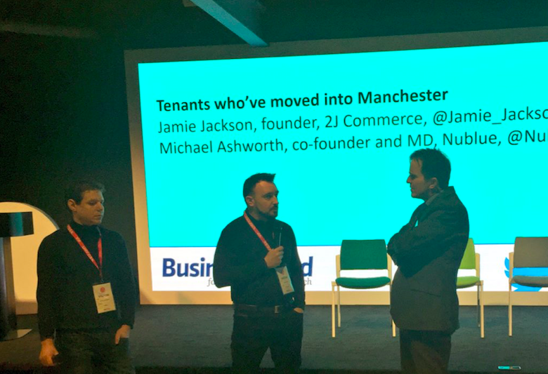 "- Speaking to Business Cloud recently, Two Jay Founder, Jamie Jackson said: ""It was the tech companies that are already based here, the city's good vibe and the amazing range of spaces on offer which tempted us to Manchester"""