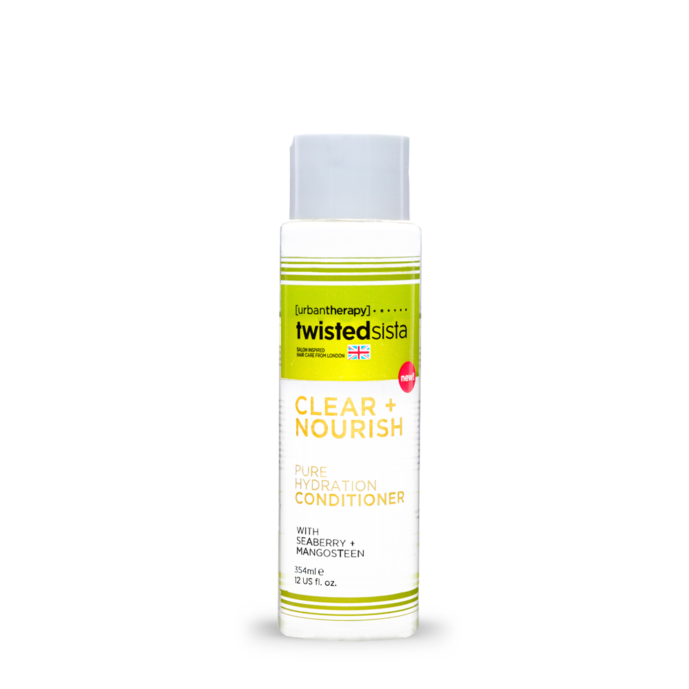 PURE HYDRATION CONDITIONER 12oz.      HAIR TYPE: THICK, COARSE   Specifically formulated for thicker hair types, this conditioner helps to seal in moisture preventing future drying or split ends.