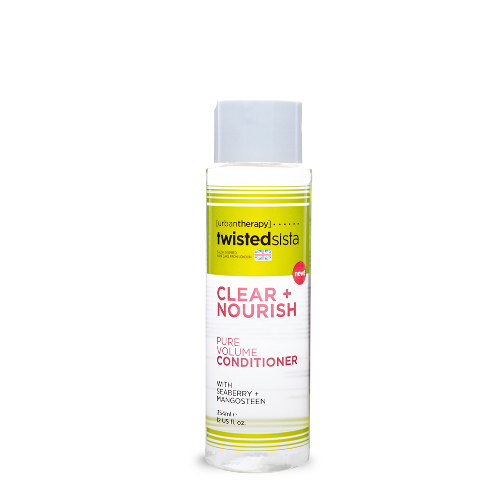PURE VOLUME CONDITIONER 12oz.    HAIR TYPE: FINE, WAVY   Formulated to provide strength to embrace fullness and volume to turn thin wavy hair into healthy bouncy hair.