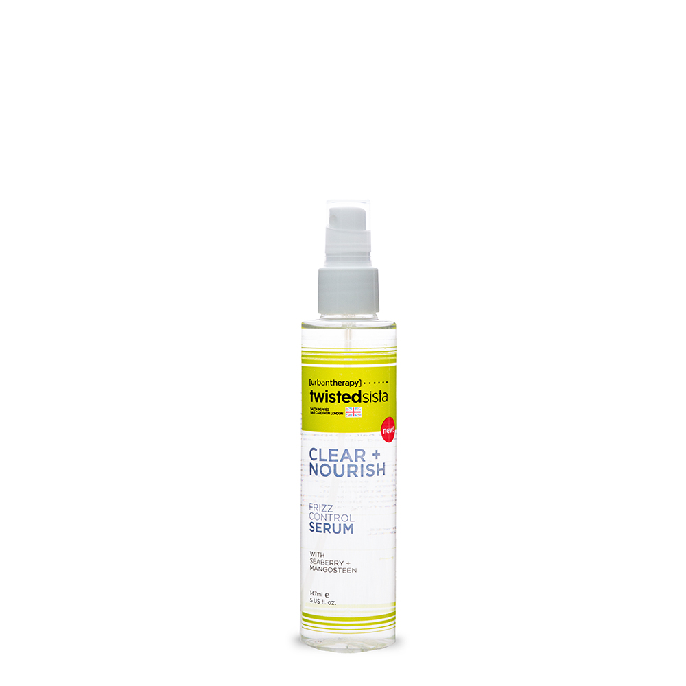 FRIZZ CONTROL SERUM 5oz.    HAIR TYPE: THICK, COARSE, FINE & WAVY     The finishing touch to any style, add luminous shine while keeping frizz in control.