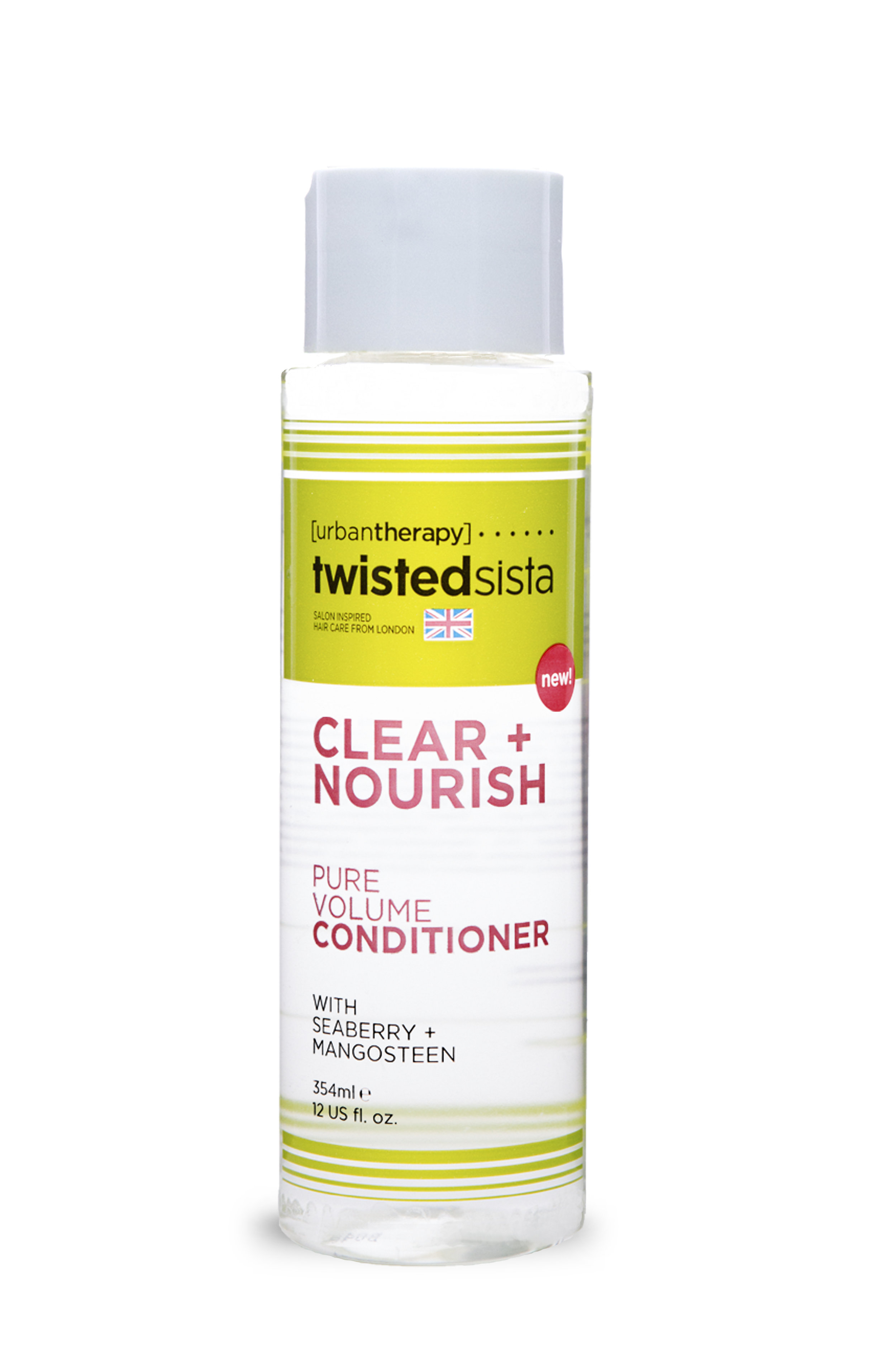 PURE VOLUME CONDITIONER - DESCRIPTION:Specifically formulated for thicker hair types, this conditioner helps to seal in moisture preventing future drying and split ends.USE: Apply to wet cleansed hair. Section hair in 4 and apply evenly from roots to tips. Detangle using a paddle brush starting at the ends and working your way up to the roots. Gently rinse after detangling.TIP: Always condition hair after cleansing to seal in moisture to ends to help prevent split ends.INGREDIENTS:Aqua (Water), Glycerin, Propylene Glycol, Sorbitol, Polyquaternium-11, Cetrimonium Chloride, Polyquaternium-10, Polysorbate-20, Panthenol, Saccharum Officinarum (Sugar Cane) Extract, Citrus Medica Limonum (Lemon) Fruit Extract, Betaine, Hexylene Glycol , Pyrus Malus (Apple) Fruit Extract, Camellia Sinensis (Green Tea) Leaf Extract, Hexapeptide-11, Vaccinium Myrtillus Fruit Extract, Acer Saccharinum (Sugar Maple) Extract, Citrus Aurantium Dulcis (Orange) Fruit Extract, Superoxide Dismutase, Foeniculum Vulgare (Fennel) Seed Extract, Visnaga Vera Fruit / Stem Extract, Hippophaë Rhamnoides (Sea Buckthorn) Oil, Garcinia Mangostana (Mangosteen) Peel Extract, Carthamus Tinctorius (Safflower) Seed Oil, Oenothera Biennis (Evening Primrose) Oil, Parfum (Parfum), Phenoxyethanol, Benzoic Acid, Ethylhexylglycerin, Glycereth-2-Cocoate, Disodium EDTA, Citric Acid.