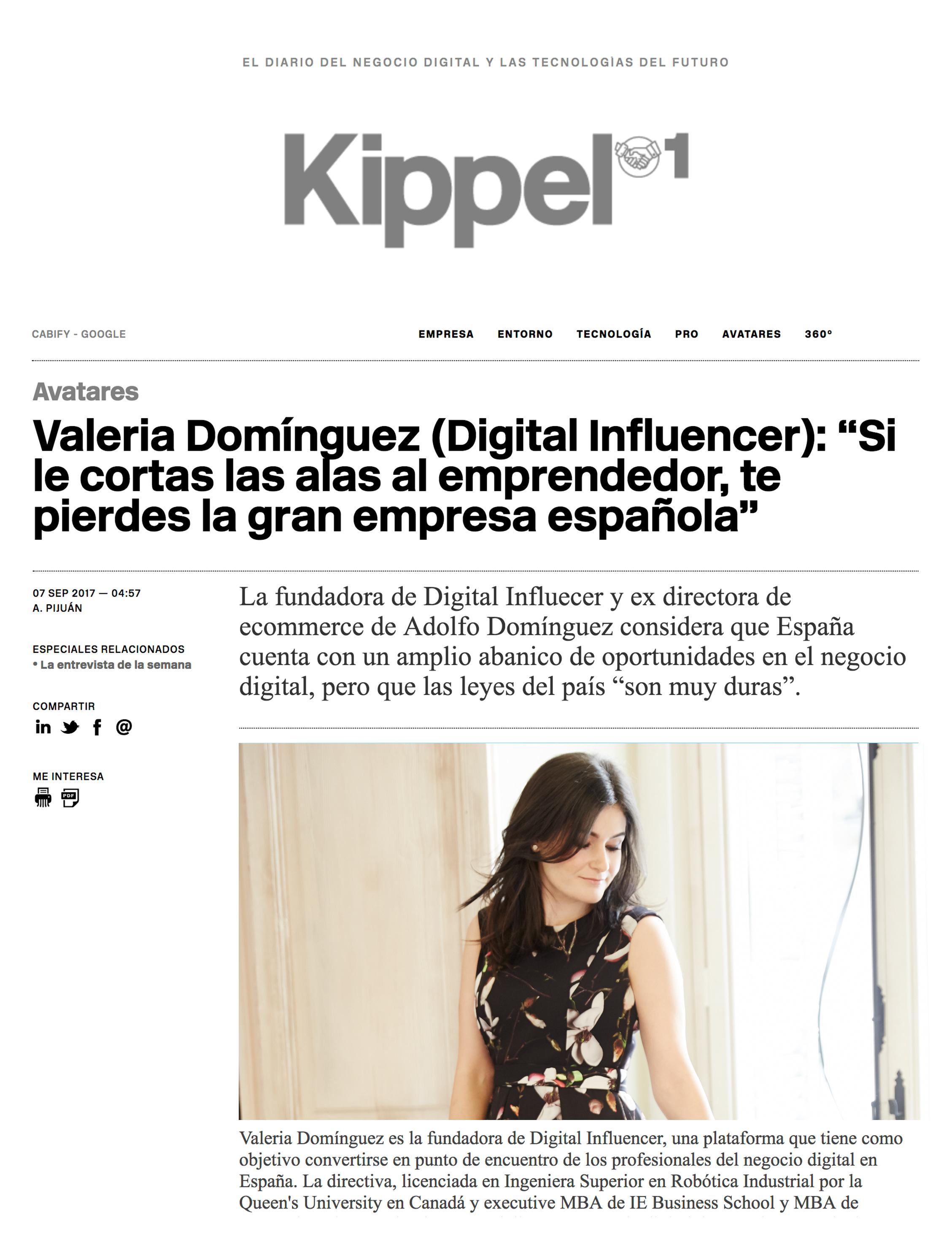 KIPPEL 01 - Septiembre 2017