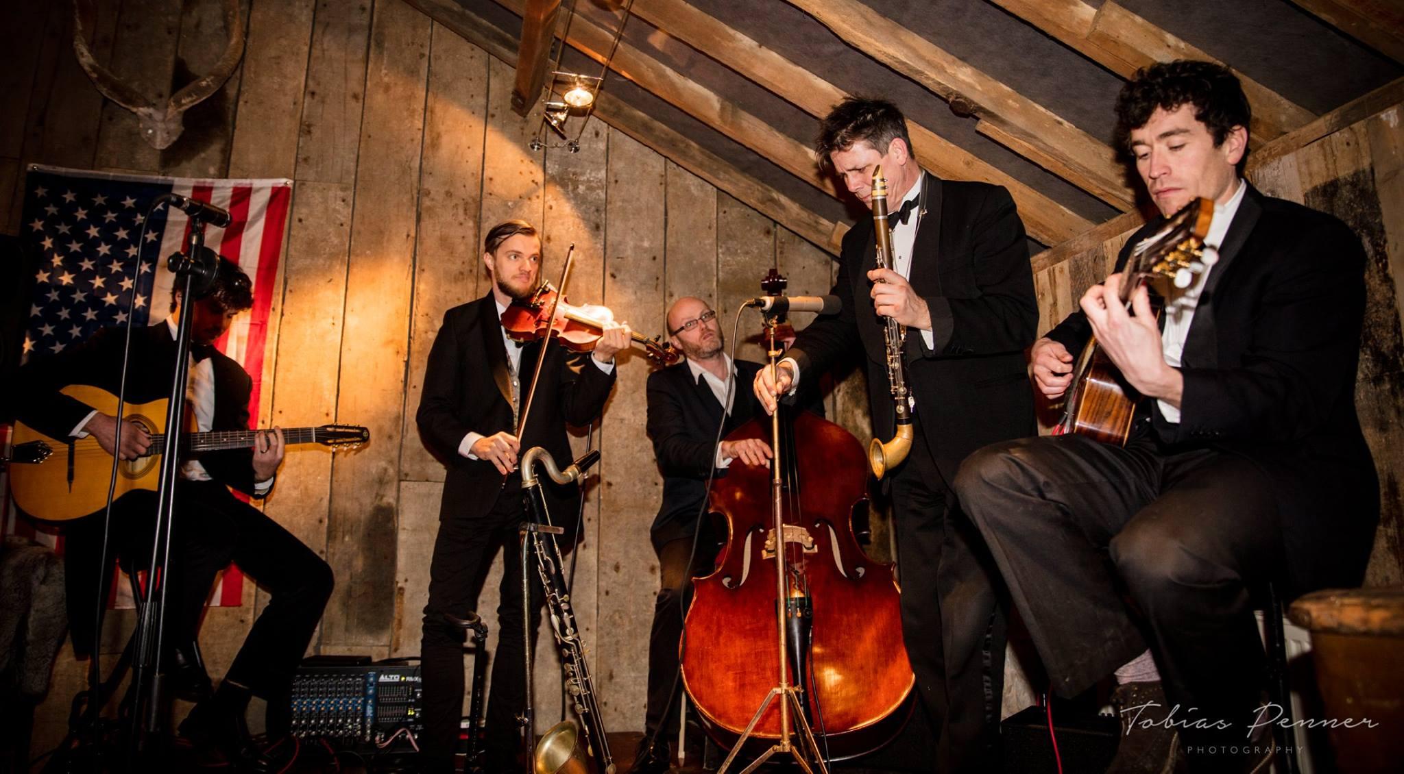 Catt Skellington Gypsy Jazz Band