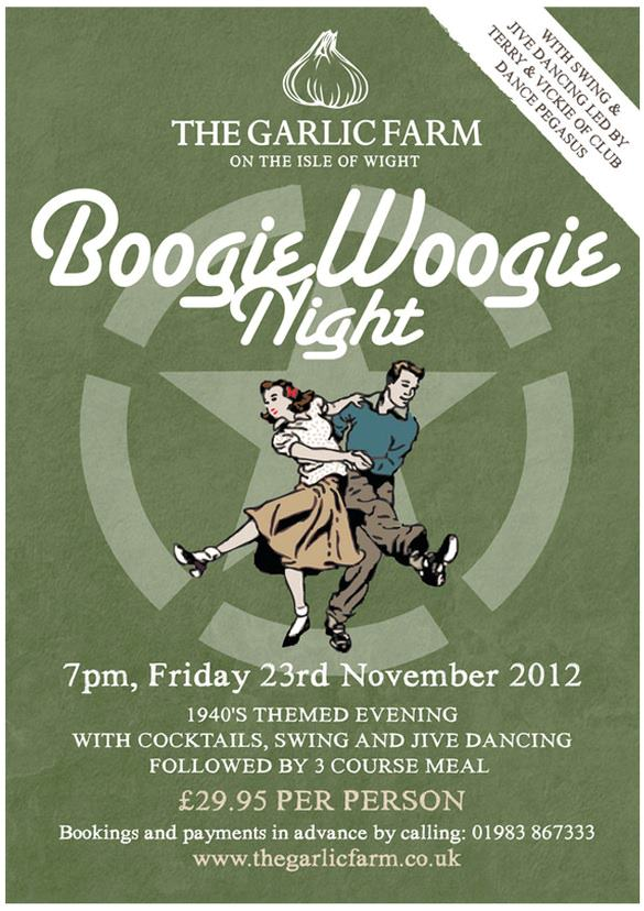 boogie boogie night poster