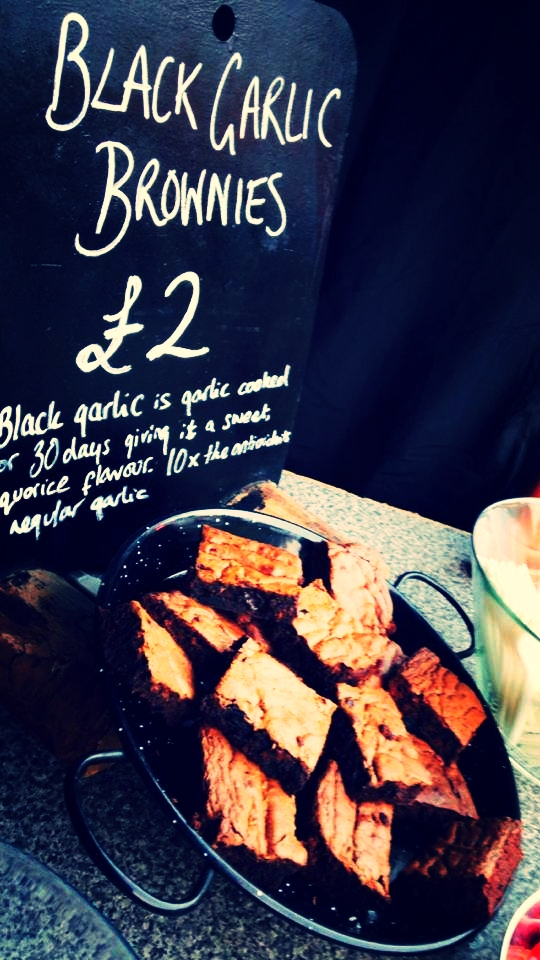 Black Garlic Brownies fly off the stand when we take them to festivals and food shows