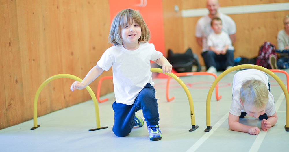 Develop A,B,C's - We know there's a lot more to football than just kicking a ball, that's why our sessions will help your child develop their agility, balance and co-ordination skills as well as building social confidence.