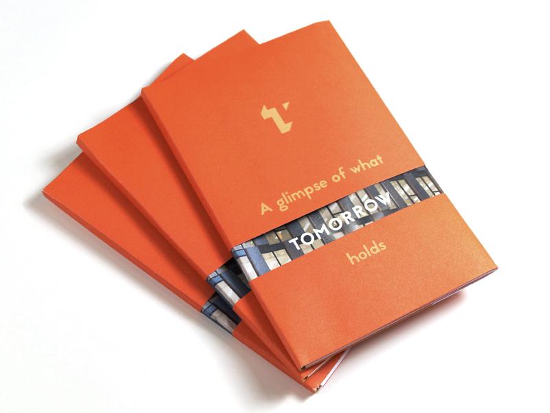 Tomorrow fold out brochure