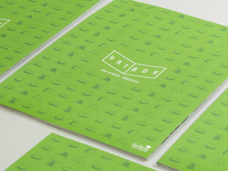 hatbox brochure cover