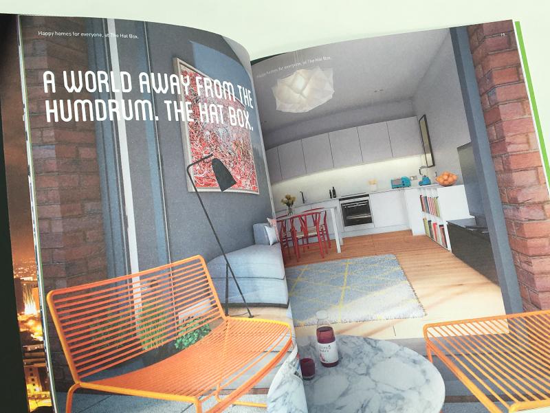 hatbox brochure spread