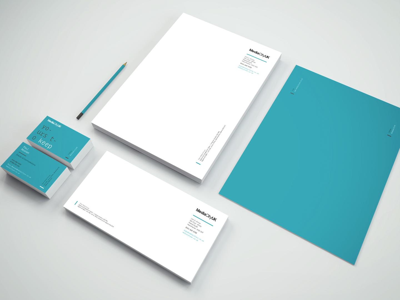 MediaCityUK stationery