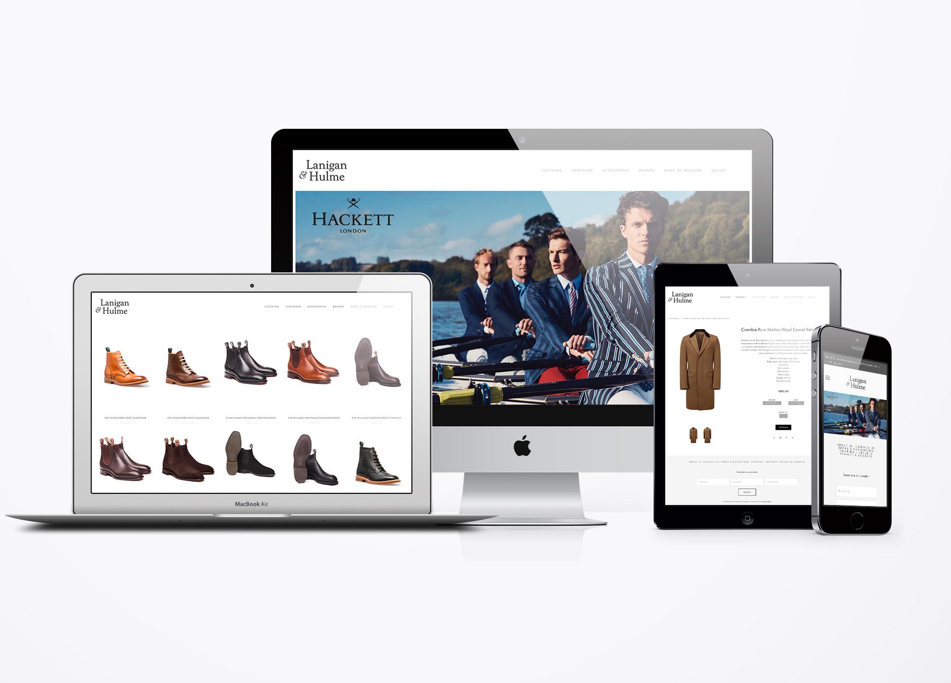 Lanigan & Hulme website