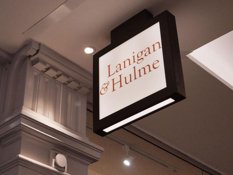 Lanigan & Hulme signage