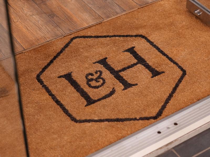 Lanigan & Hulme door mat