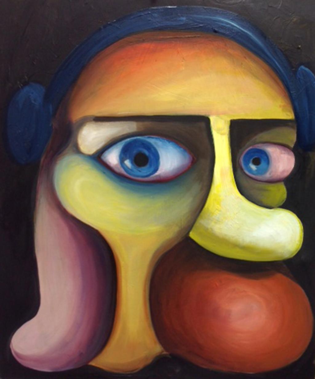 """Mona Lisa,16""""x 20"""", oil on canvas"""