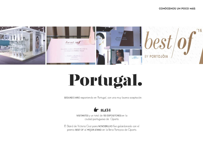 Premio Best of (Mejor Stand) en la Feria Portojoia de Oporto