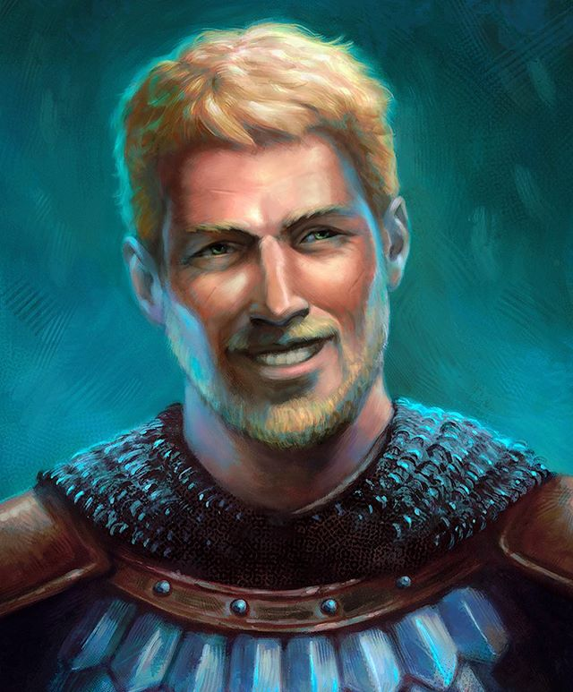 """Edér"". Another #pillarsofeternity portrait. #fantasyart"