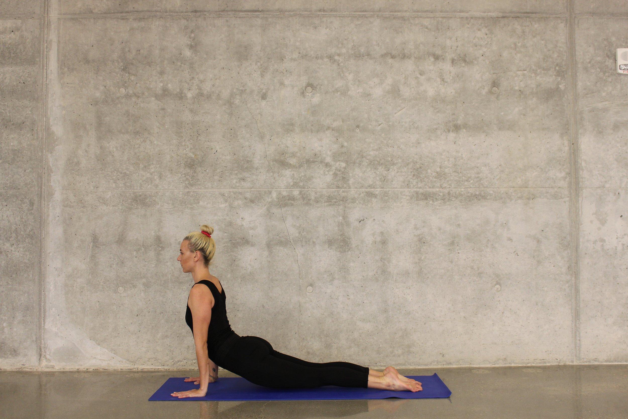 Yoga Pose, courtesy of Katee Lue / Unsplash