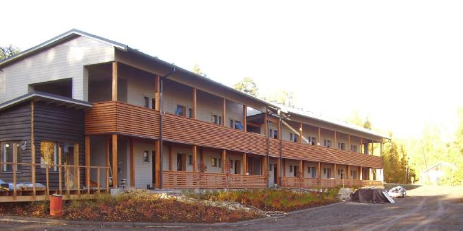 Huoneistohotelli Oravi, Savonlinna 2008