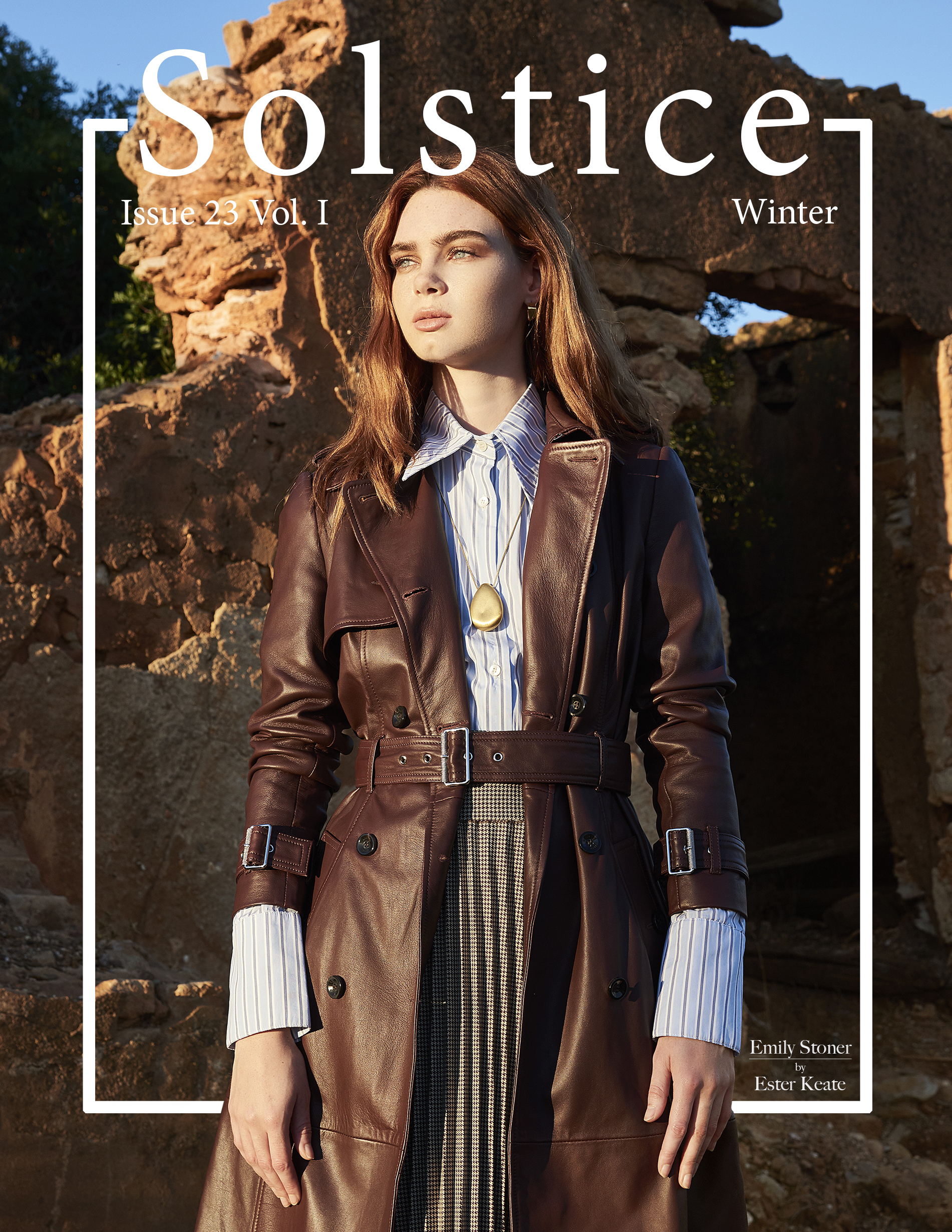 Solstice Magazine - Cover Issue 23 Vol 1