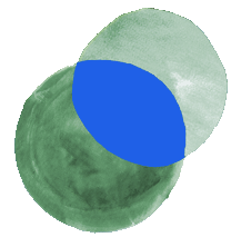 Circles overlapping image