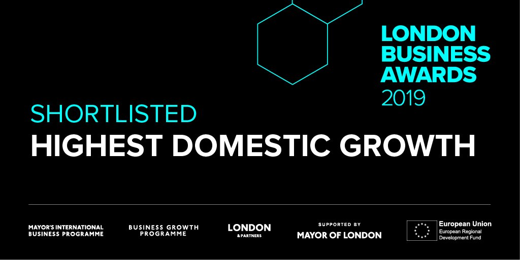 "Tassomai is a London Business Awards ""HIghest Domestic Growth"" finalist"