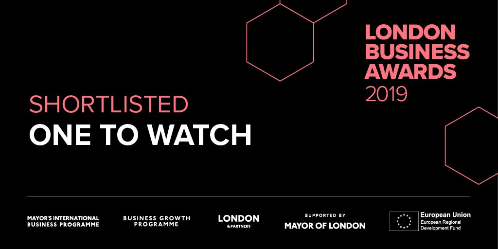 "Tassomai is a London Business Awards ""One to Watch"" finalist"