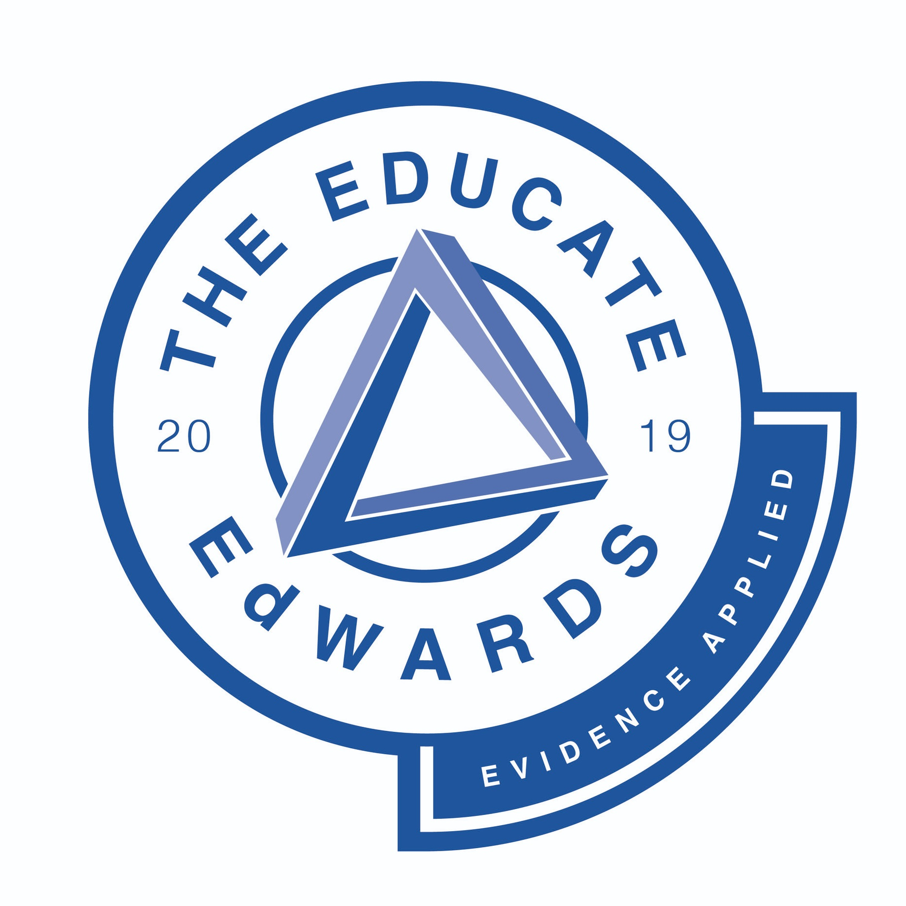 "The EDUCATE EdWards ""Evidence Applied"" logo"