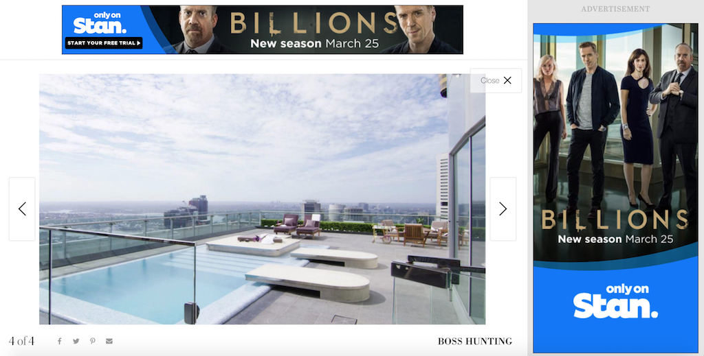 Billions Display