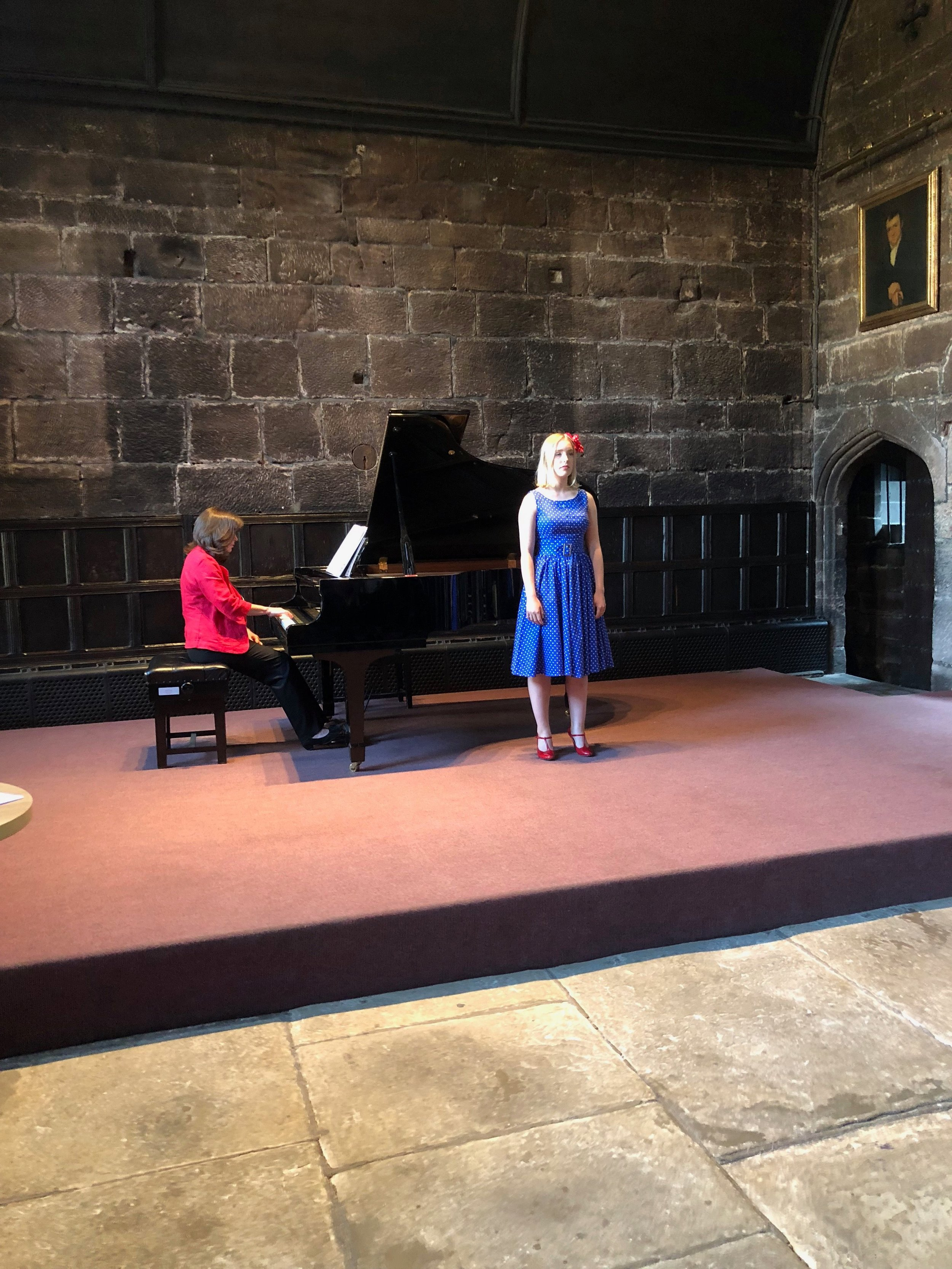 The Cheetham School of Music provided excellent entertainment, performing pieces by the celebrated Norwegian composer Edvard Grieg