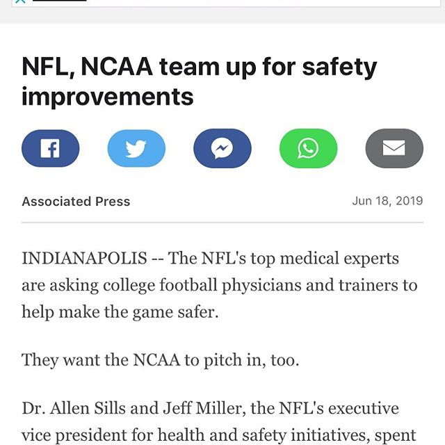 The NFL and NCAA are looking at ways to keep players safer. Rules can help, but so can equipment.  Full article  https://www.espn.com/nfl/story/_/id/27002037/nfl-ncaa-team-safety-improvements  @zuti_facemasks . #safeclip #mayfieldathletics #concussions #football #footballhelmets #nfl #ncaa #highschoolfootball #footballsafety #headsup #putsafetyfirst #youthfootball #facemaskclip #playersafety #collegefootball #ncaafootball #footballplayers #footballfacemask #footballmom #footballgame #footballcoach #footballtraining #footballteam #footballstadium #footballcamp #nflplayersassociation #playsmart #playsafe