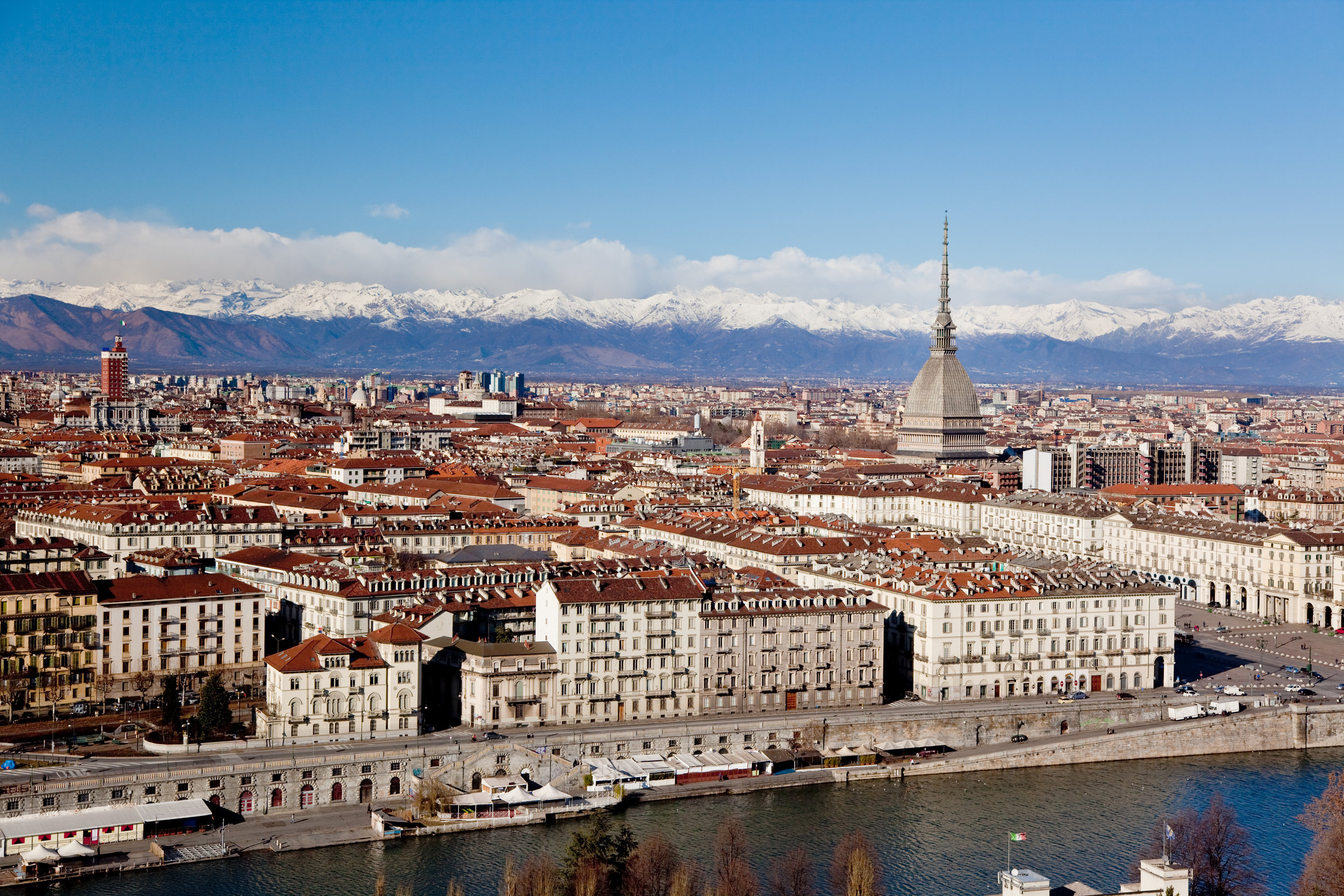 Turin panoramic view