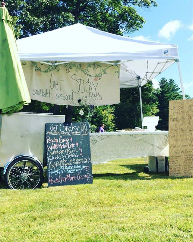 It's sunny & crisp & absolutely stunning today for the Maine Cheese Festival!! Hanging with some killer producers ovah here in Pittsfield, stop by and give a 👋🏻👋🏻👋🏻👋🏻 #smallbatch #ladybiz #poplife #knowyourfarmer #knowyourfood #getsticky #mainefood #owned&operated #summeraintovah