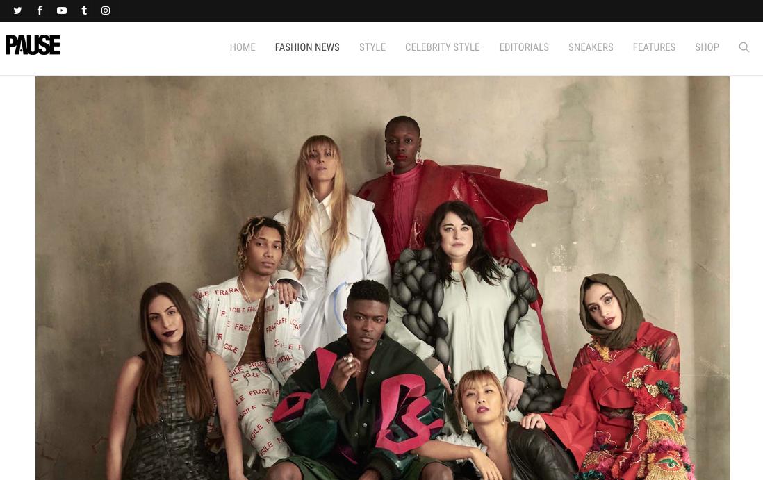 Pause - Graduate Fashion Week Unveil 2018 Campaign22/05/2018