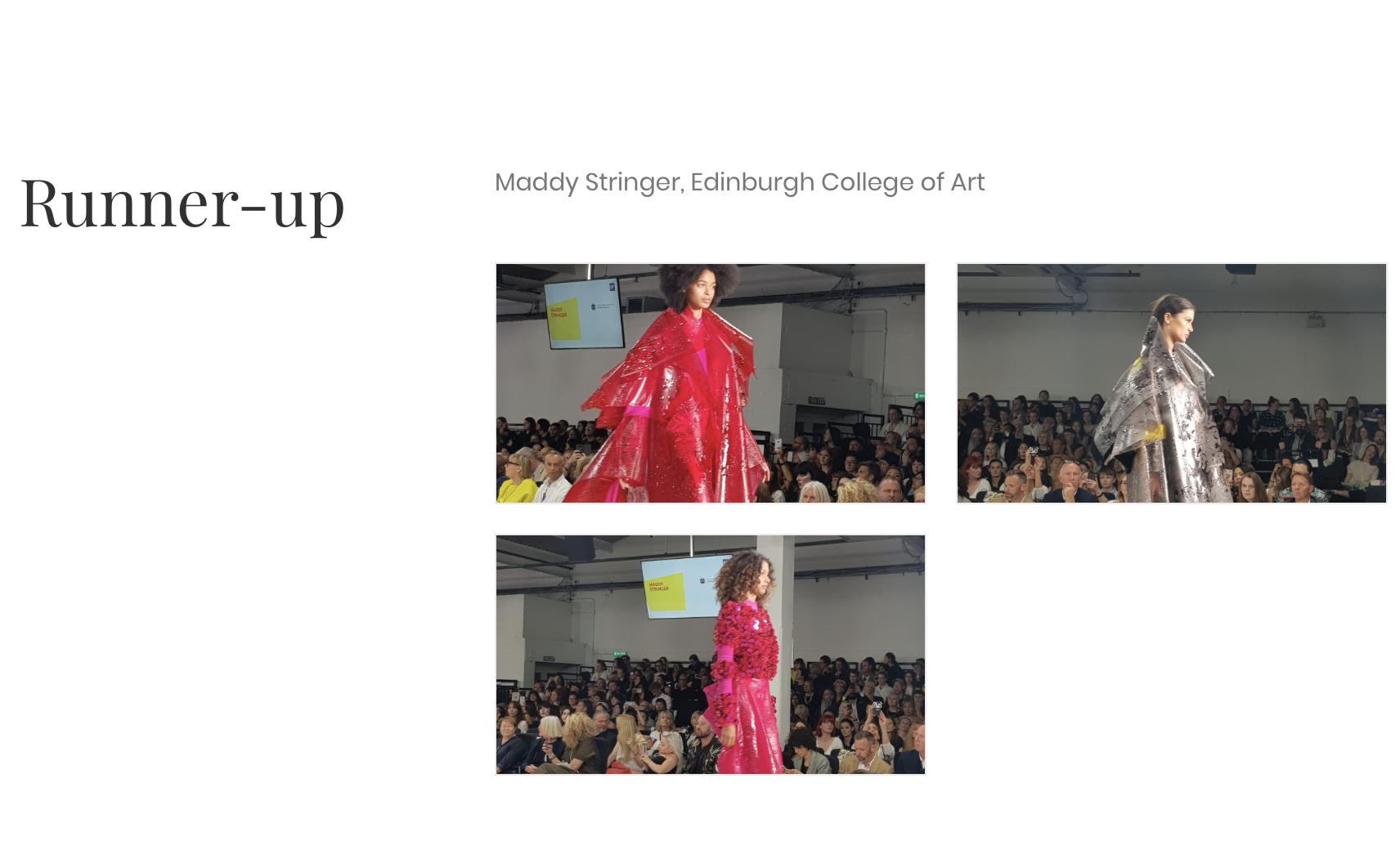The Design Shrimp - Graduate Fashion Show Gala Finalists10/06/2018