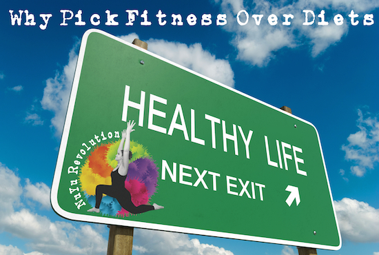Why Pick Fitness Over Diets   NuYu Revolution