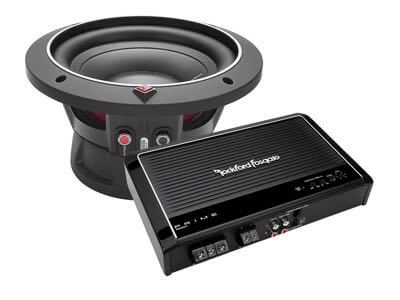 Fosgate bass package at Audio Realm