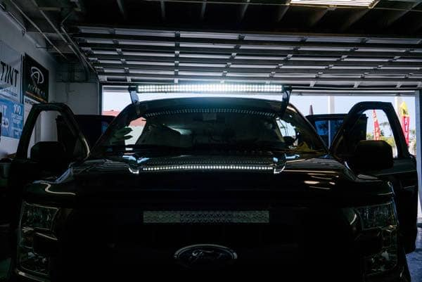 Car LED lighting installation in National City