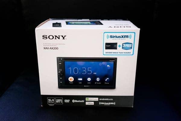 Sony Head Unit installation for car audio