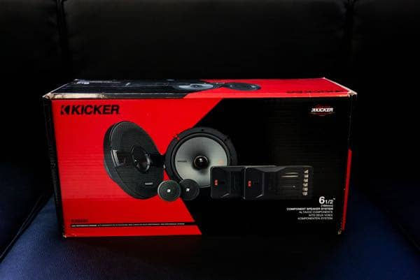 Kicker Car Speaker System and Car Audio